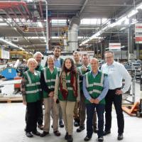 Посещение завода Rendamax